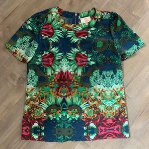 Collective Concepts Floral Blouse